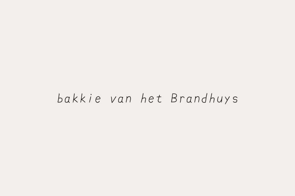 review koffie brandhuys